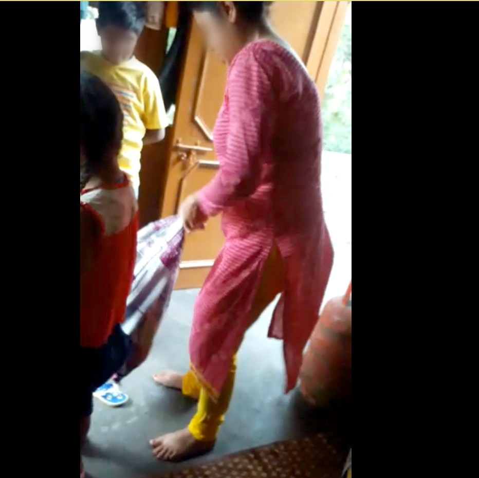 8-Sector_29_Chandigarh_Step_Mother_beats_child