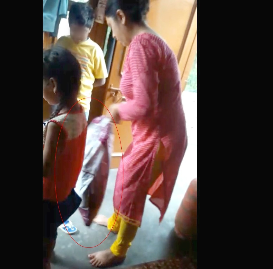 9-Sector_29_Chandigarh_Step_Mother_beats_child