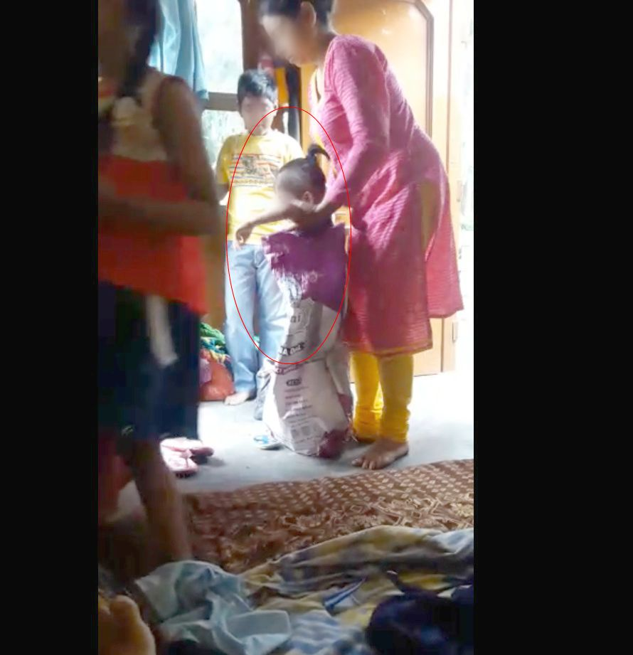 11-Sector_29_Chandigarh_Step_Mother_beats_child