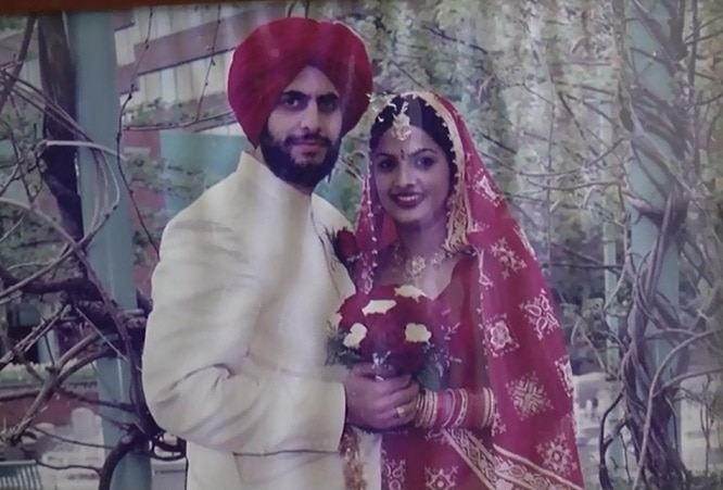 Amaninder-Kaur-marriage-in-canada-police
