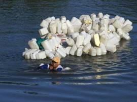 ਪਾਣੀ ਲਈ 200 ਬੋਤਲਾਂ ਲੱਕ ਨਾਲ ਬੰਨ੍ਹ ਚਾਰ ਕਿਲੋਮੀਟਰ ਸਫਰ