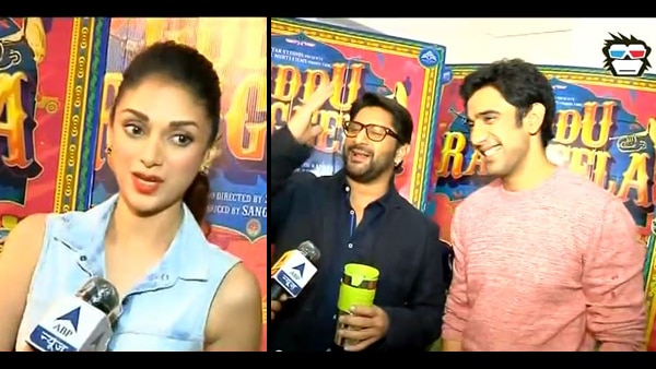 Exclusive IV! Arshad Warsi, Amit Sadh and Aditi Rao talk about 'Guddu Rangeela'