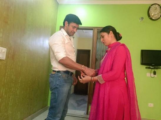 IN PICS: TV Stars Celebrate Raksha Bandhan With Their Real