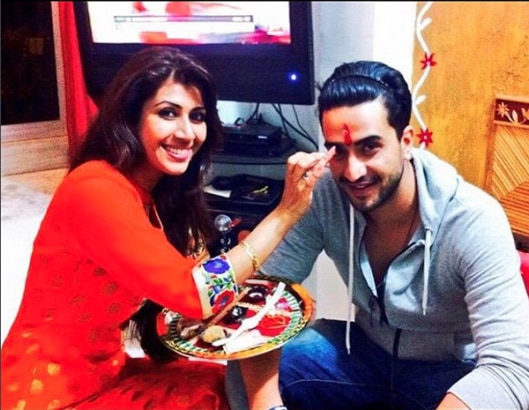 IN PICS: TV Stars Celebrate Raksha Bandhan With Their Real