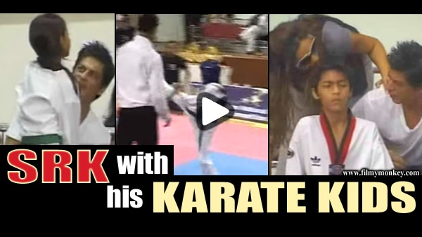 Throwback VIDEO: SRK at Aryan-Suhana's 2010 Taekwondo Competition; Dad giving tips, Mom clicking pictures!