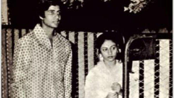 "Amitabh Bachchan celebrates 43rd wedding anniversary with Jaya; Says, ""It Rained when I got married"""