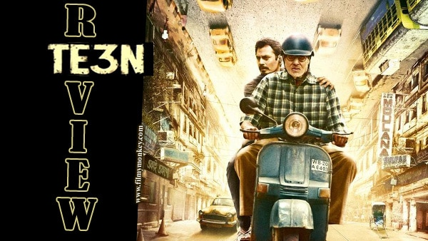 MOVIE REVIEW: Big B, Nawazuddin, Vidya lend heft to 'TE3N'