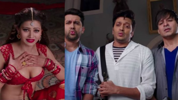 GREAT GRAND MASTI TRAILER: Be ready to experience a roller coaster fun ride with a ghost