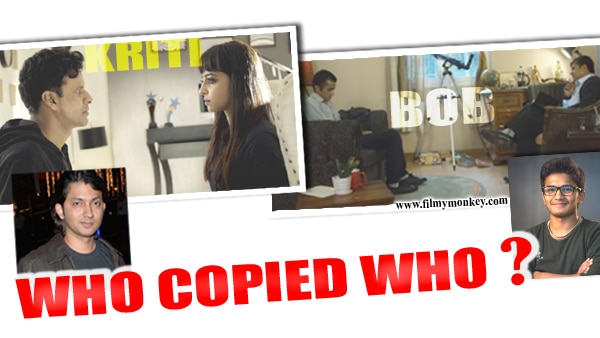 Shirish's 'Kriti' is the copy of Nepali short film 'Bob'?; Kunder files legal notice saying it is the opposite! WATCH BOTH FILMS!