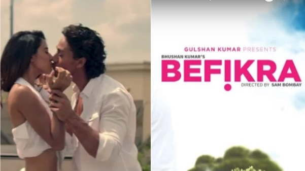 Befikra Song OUT; Tiger Shroff & his girlfriend Disha Patani's HOT chemistry is the Highlight!
