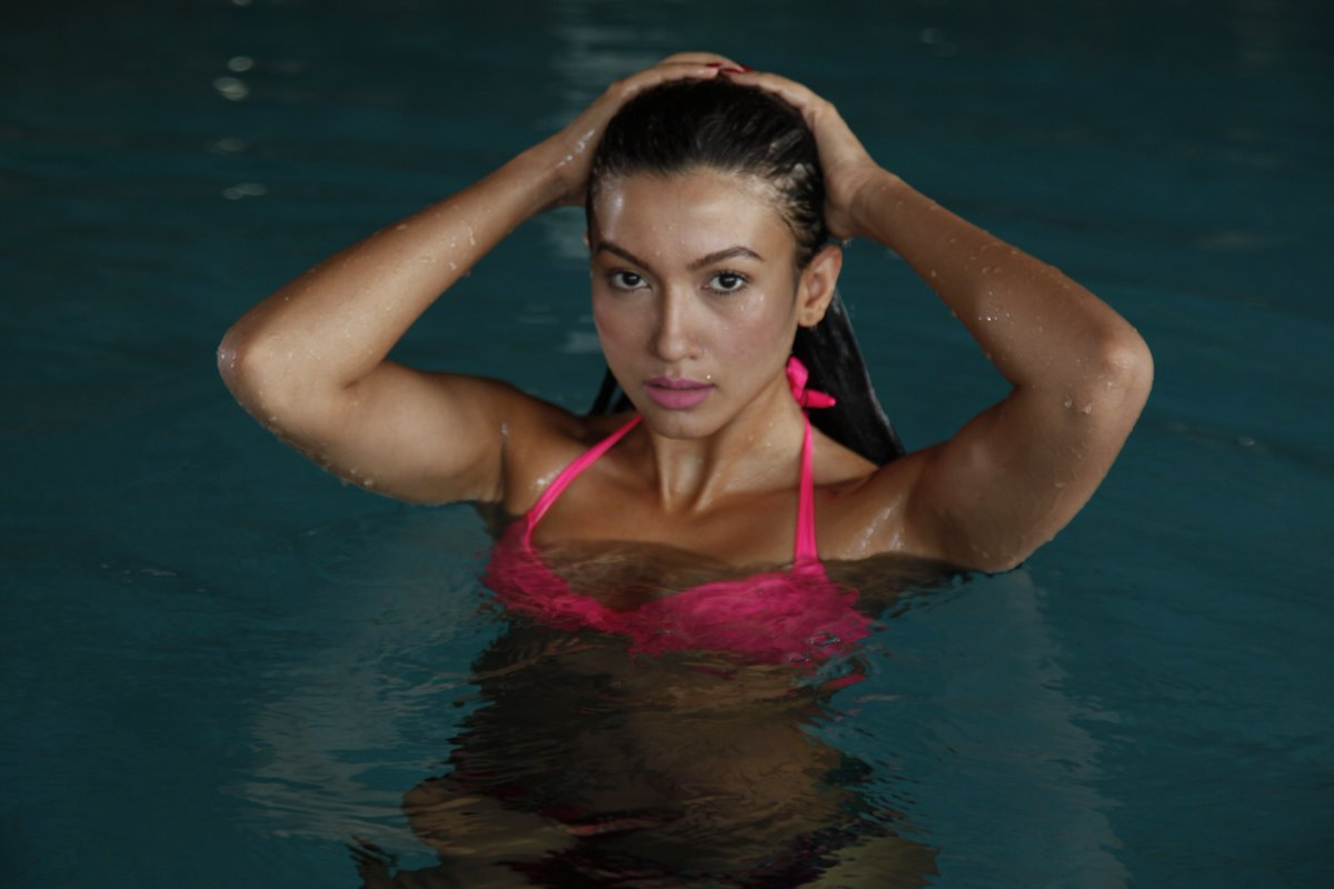 Film & television actress Gauhar Khan grabbed the 10th spot in the list of Sexiest Asian Woman