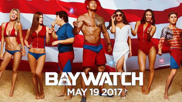 Baywatch Priyanka Poster