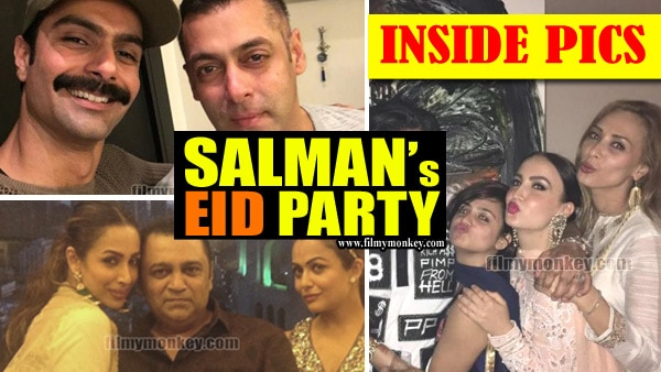 SALMAN's EID PARTY: Iulia Vantur, Malaika, Pulkit's ex wife Shweta & other Film-TV Celebs attend; SEE INSIDE PICS!