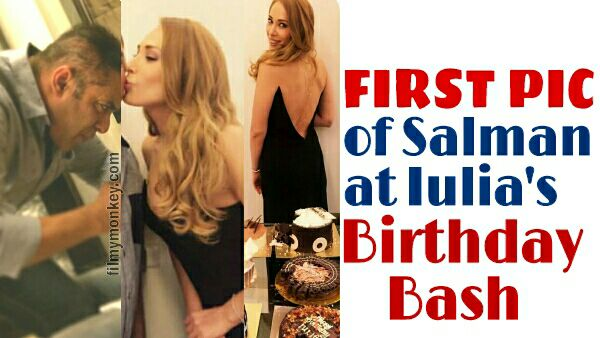 UNSEEN PIC: Salman Khan finally SPOTTED at Iulia Vantur's Birthday Party; Looked happy at girlfriend's bash!