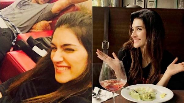Kriti Sanon CELEBRATES her Birthday with boyfriend Sushant Singh Rajput! View Pics!