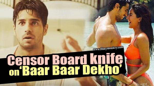 CBFC certifies 'Baar Baar Dekho' 'UA' after 'Bra' & 'Savita Bhabhi' CUTS!