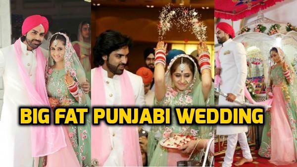 CHECK OUT: TV actors Hunar Hale & Mayank Gandhi's FAIRYTALE WEDDING PICS are MESMERISING!