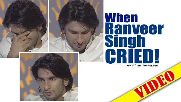 What made Ranveer Singh CRY HARD on a TV show back in 2011 ? Blast from the Past!