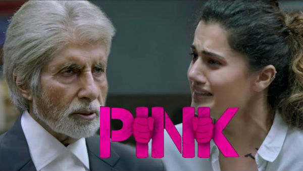'Pink' MOVIE REVIEW: Hard hitting, BOLD & exceptional; Amitabh Bachchan,Taapsee elevates POWERFUL message-based film