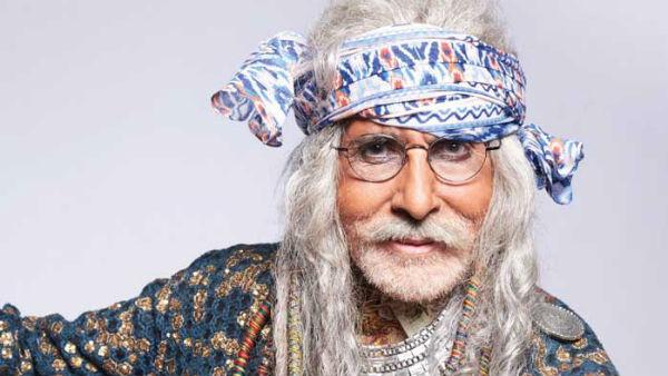 Amitabh Bachchan sports white dreadlocks for TV commercial