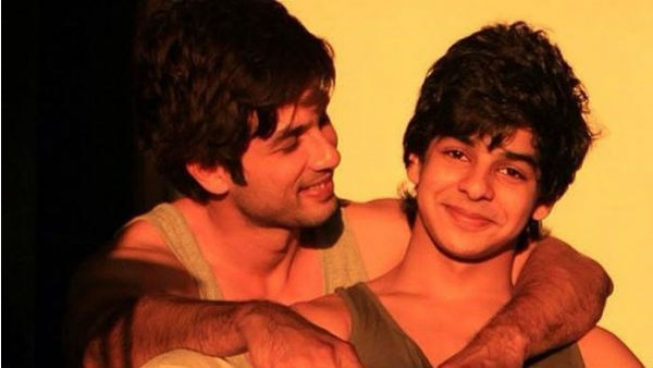 Shahid Kapoor REVEALED his younger brother Ishaan is his 'biggest critic'