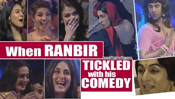 5 TIMES Ranbir Kapoorblew mindswith his Comedy on stage; Played Aishwarya to Vidya Balan.. MUST WATCH!