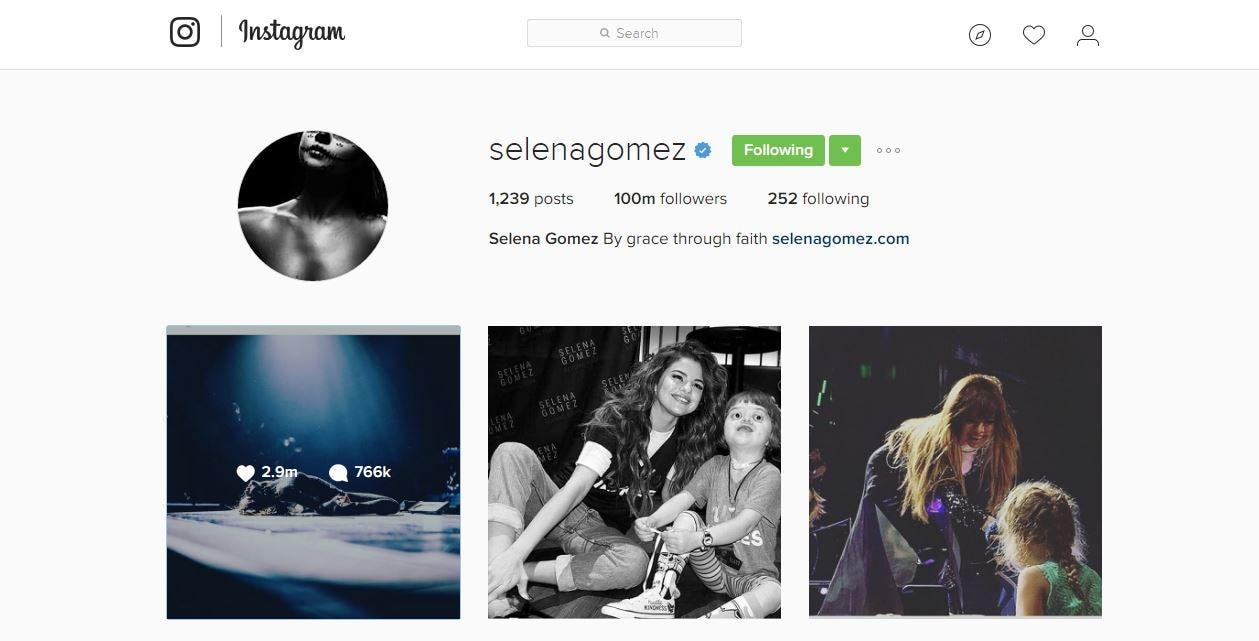WOAH! Selena Gomez crosses 100 MILLION Instagram followers!