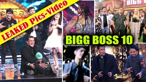 Bigg Boss 10: LEAKED! Deepika Padukone REACHES; Contestants Rohan & Karan Mehra, VJ Bani's ENTRY; Salman Khan's COMEDY & DANCE.. First PICS & VIDEOS!