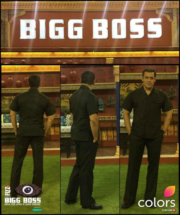 Salman Khan in 'Bigg Boss 10'