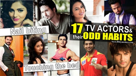 17 TV Stars with STRANGE Habits… from Jotting down the dreams, touching the bed… nail biting!