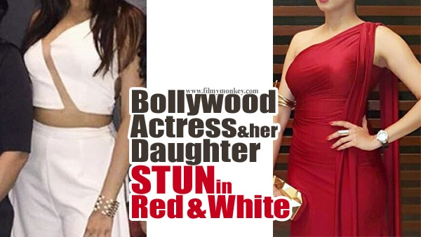 HOT! Famous Bollywood actress & her daughter wearing cleavage-revealing cutout dress; SEE PICS!