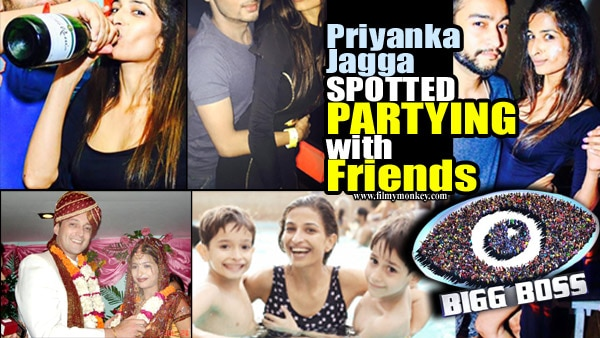 Bigg Boss 10: Mom of 2 sons, Priyanka JaggaMuise loves to BOOZE & PARTY; Spotted recently with Friends.. See WEDDING& FAMILY pics too!