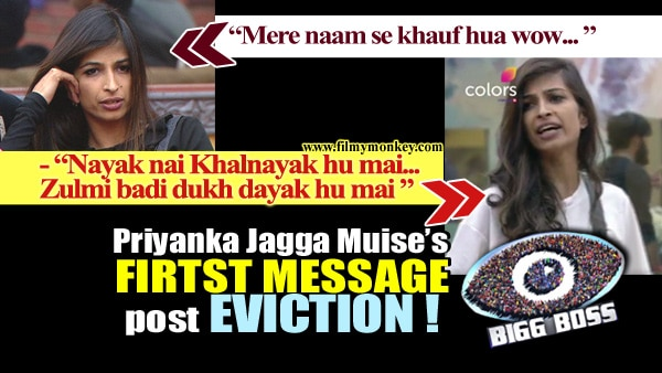 Bigg Boss 10: Priyanka Jagga Muise's FIRST REACTION post EVICTION is BOLD; Takes on HATERS too…!
