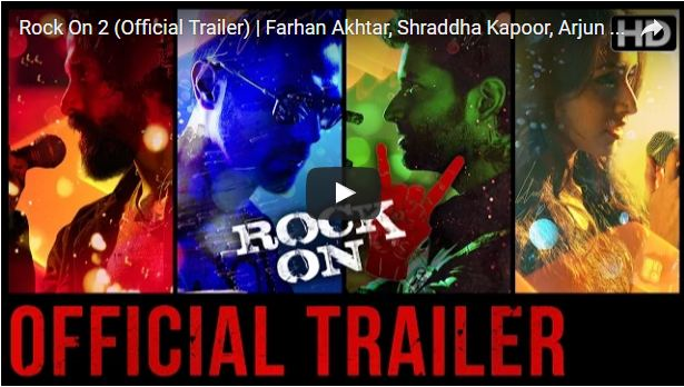 Rock On 2 TRAILER: The magik is ALIVE.. watch Shraddha Kapoor, Farhan Akhtar, Arjun Rampal in the powerful promo