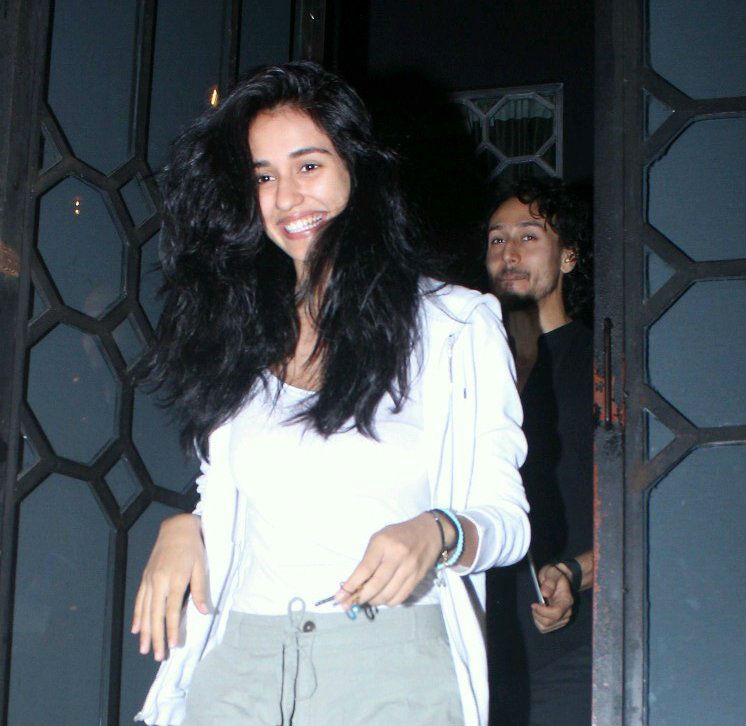 Image result for Tiger Shroff and Disha Patani went out on a dinner date