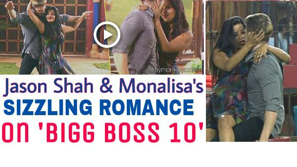Bigg Boss 10: HOTTIE Jason Shah and Monalisa SCORTCH IT UP! WATCH their SIZZLING MOVES!