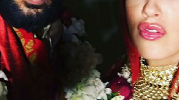 AWWWW! Check Out this adorable pic shared by Yuvraj with Hazel Keech after their wedding!
