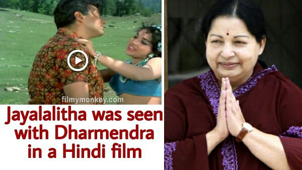 Did you know Jayalalitha was seen opposite Dharmendra in a film?
