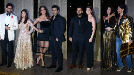 Anushka-Virat and other B-TOWN couples steal the limelight at Manish Malhotra's birthday bash: See Pics!