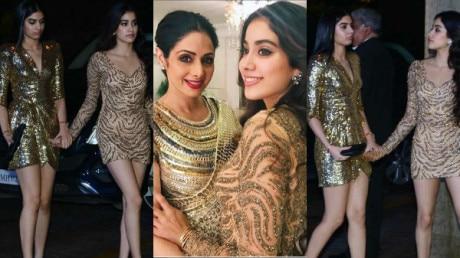 Golden girls Jhanvi Kapoor and Khushi Kapoor redefine HOTNESS  at Manish Malhotra's birthday bash: Check Pics Inside!