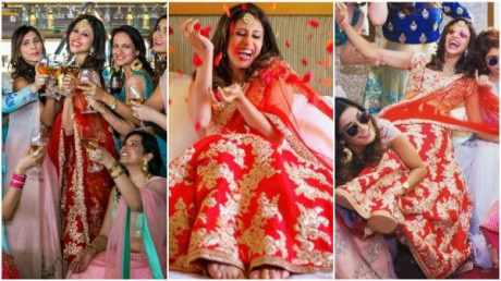 SEE PICS: Soon-to-be-bride Kishwer Merchantt BEAMING with JOY in her BRIDESMAID shoot!