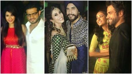 Suyyash-Kishwer SANGEET PICS: Karan Patel, Ritvik-Asha & other POPULAR TV celebs grace the occasion!
