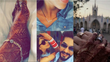 These PICS of newlywed Kishwer Merchant FLAUNTING her mangalsutra & chura alongside hubby Suyyash Rai in a matching outfit are BREATHTAKINGLY BEAUTIFUL!