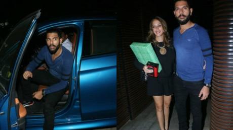 PHOTOS: Newlyweds Yuvraj Singh and Hazel Keech spotted on a DINNER DATE !