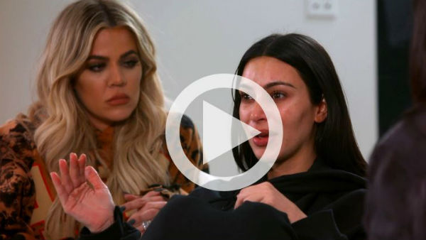 WATCH VIDEO: They're going to shoot me in the back: Kim K on Paris robbery!