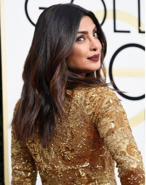 The actress, who was holidaying back home in India recently, headed back to work last week. She has begun shooting for her American TV series Quantico again.