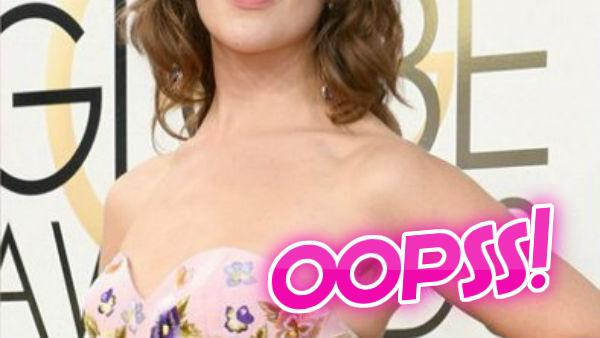OOPSS! IN PICS: POPULAR Hollywood actress spotted with HAIRY ARMPITS at Golden Globe Awards 2017 RED CARPET!