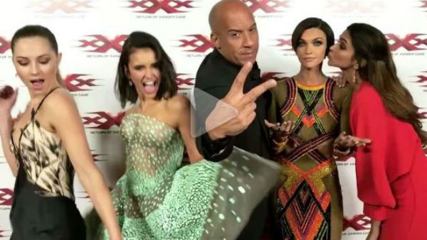 Deepika and team have fun promoting 'xXx: The Return of Xander Cage'
