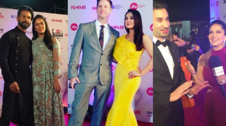 IN PICS: From Shahid-Mira to Preity-Goodenough meet these STUNNING Bollywood couples on Filmfare 2017 RED CARPET!