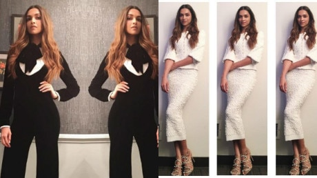 SEE PICS:Deepika Padukone looks smoking hot as she makes an appearance on the The Ellen Show and The Late Late Show!